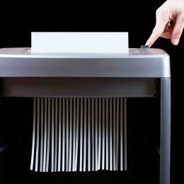 Destructeur de papier d'archives - cartons et classeurs entiers